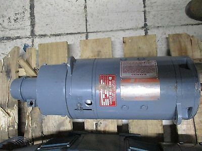 Saftronics Dc Motor L186atc 2hp 17502050rpm Tenv Enclosure Used