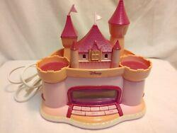 Disney Pink Castle Princess AM/FM Clock Radio P300ACR Stars Project Works