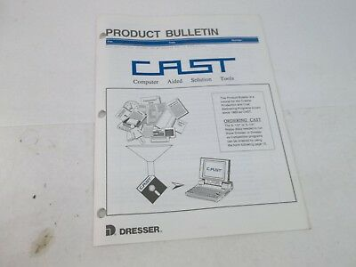 Dresser Product Bulletin Cd-5 Crawler Loader Computer Aided Solution Tools