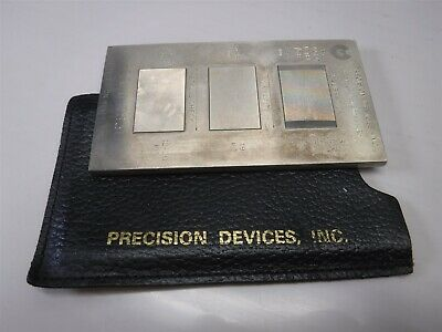 Used Nice Precision Devices Inc. Calibration Reference Standard Pdr-6-783 H5