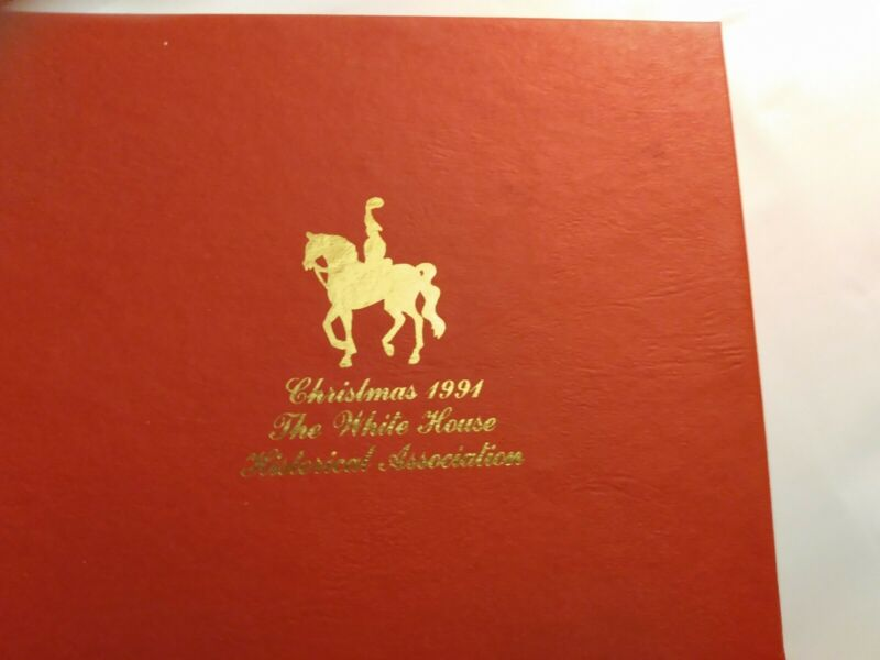1991 white house historical association christmas ornament