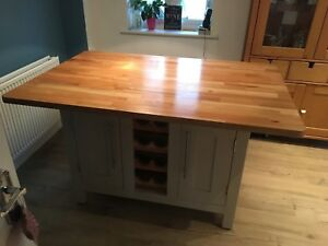 Kitchen Island Unit Rustic hand made - The Bressingham
