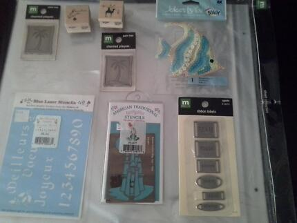 Brand new - scrapbooking goodies or card making bundle Liverpool Liverpool Area Preview