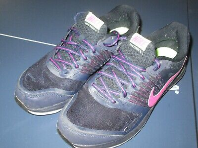 34.99. Nike Dual Fusion X Continual Shoes Sneakers Navy Pink Black Womens  ... ad994a37f