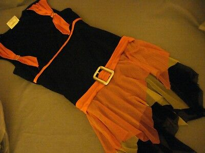 Sassy Witch Costume Dress - Cosplay Dress up California Costume Size Teen (3-5) - Witches Dress Up
