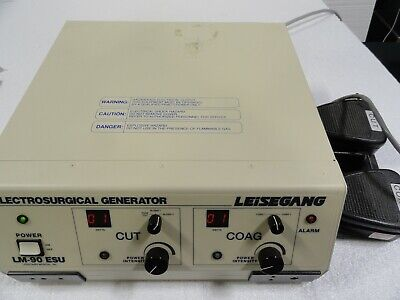 Leisegang Lm-90 Esu Electrosurgical Generator Surgical With Footswitch