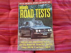 Wheels Road Tests no 16 -XT Falcon GT - ZB Fairlane -  Galaxie. Centenary Heights Toowoomba City Preview