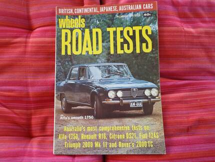 Wheels Road Tests no 16 -XT Falcon GT - ZB Fairlane -  Galaxie.