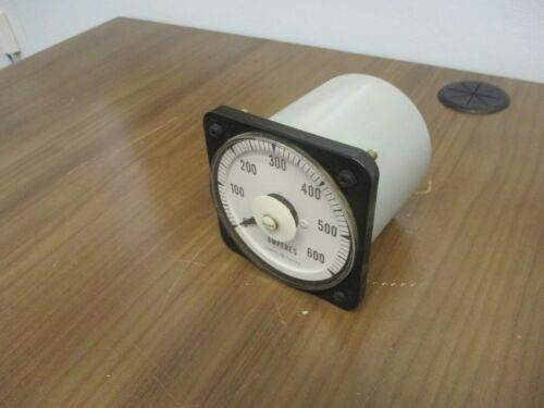 GE AC Ammeter 50-103131LSSJ7 Range: 0-600A Used