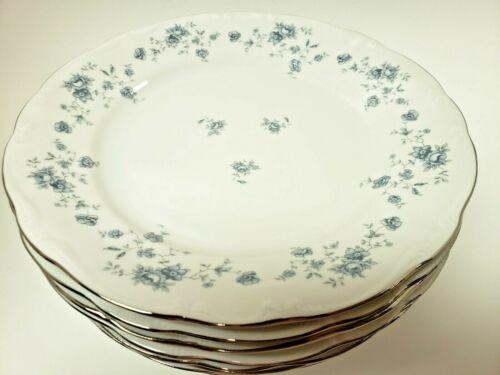 "Blue Garland Johann Haviland Bavaria Germany 10"" Dinner plates Set of 8"