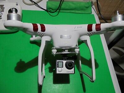 DJI Phantom 3 Measure GoPro Camera WiFi  Drone---EXCELLENT---FLIES GREAT---WOW