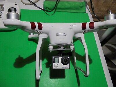 DJI Phantom 3 Yardstick GoPro Camera WiFi  Drone---EXCELLENT---CARRYING BACKPACK