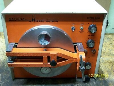 National Heinicke Steril-quik Autoclave Dryer Sterilizer 704-9000-d