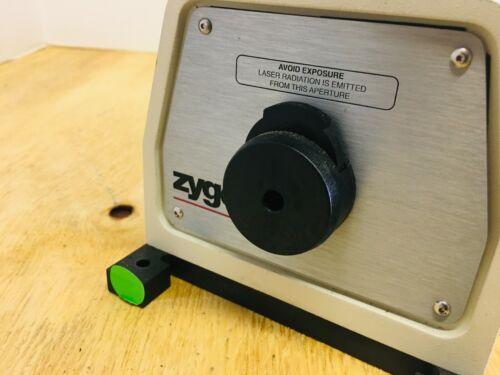 ZYGO 7702 LASER HEAD 6MM LOW USAGE MADE DEC 2004