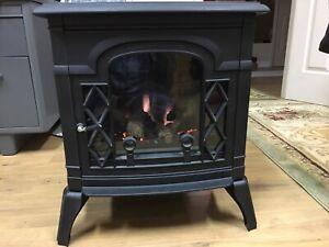 Wood stove - electric