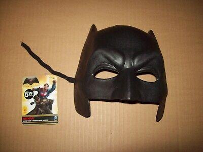NEW Batman Mask Adult Halloween Costume Batman VS Superman W Tags Hard