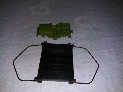 Remco Whirlybird Helicopter Cargo Sling Lift and Jeep Accessories Parts