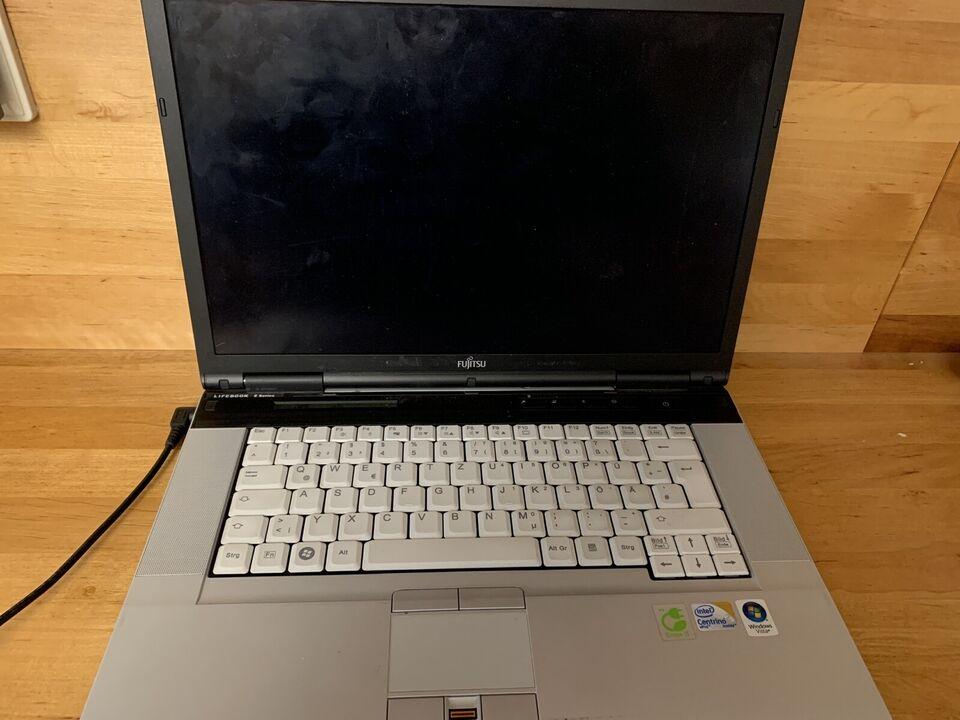 Fujitsu Lifebook mit Kabel & Tasche, funktionsfähig, Windows 7 in Sachsen - Bannewitz