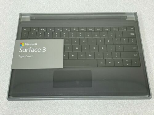 BRAND NEW Microsoft 1654 Surface 3 Type Cover Keyboard Black US English QWERTY