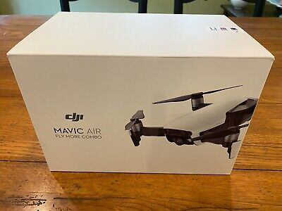 DJI Mavic Air Fly More Combo - Foldable, Pocket-Portable Drone - Onyx Black...