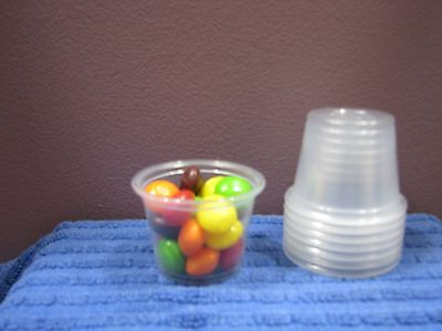 Portion/Souffl?? Cup Lids. Fits .5-1oz Cups  Clear  2500/Car