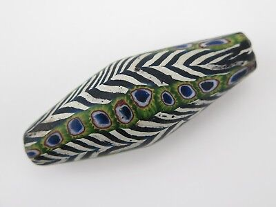 Large bicone North Indian Himalayan trade bead.
