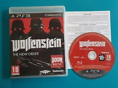PS3 : wolfenstein - the new order