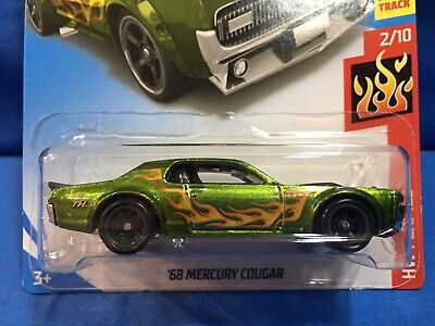 Hot Wheels 2019 Super Treasure Hunt '68 Mercury Cougar HW FLAMES '19