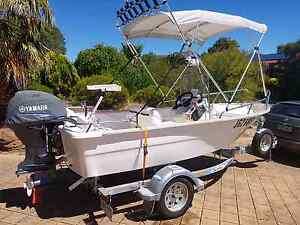 4.1m fibreglass centre console fishing boat Plympton West Torrens Area Preview