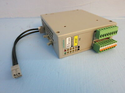 Siemens 6dd1681-0ae2 Sb 10 Simadyn D Io Module Plc Simatic 6ddi68i-oae2