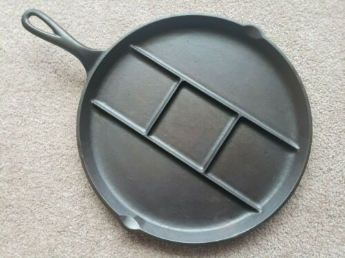 Rare 1932 GRISWOLD ROUND BREAKFAST SKILLET P/N 665B