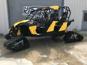 2014 Can-Am MAVERICK MAX X-RS DPS W/ TRACK KIT
