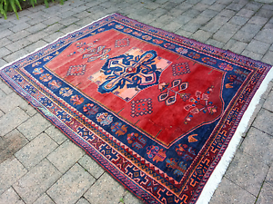 Lovely vintage tribal Persian carpet Drummoyne Canada Bay Area Preview