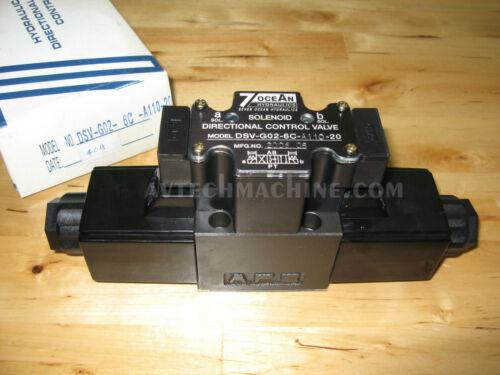 SevenOcean Hydraulic Solenoid Valve DSV-G02-6C-A110