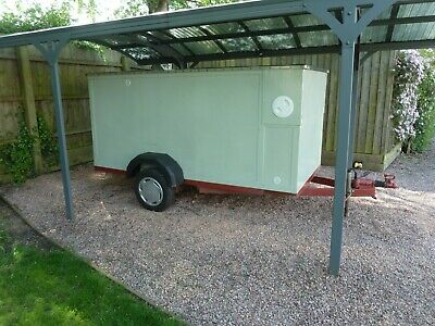 8x4 10x5 rigid side secure tow a van type box trailer builders Worcester