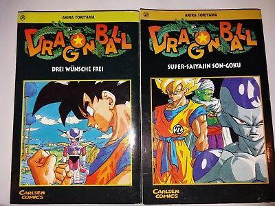 Dragon Ball Comic 25 und 27