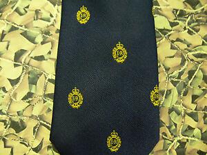 Royal-Engineers-Regimental-Crest-Blue-Tie-RE