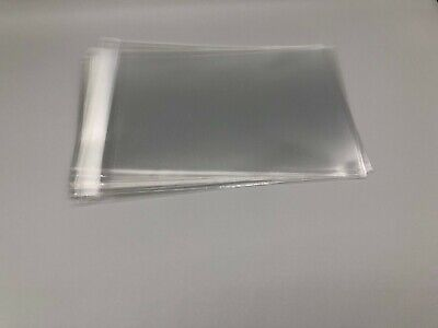 Clear Resealable Self Adhesive Seal Cello Lip Tape Plastic Bags 1.8 Mil Thick