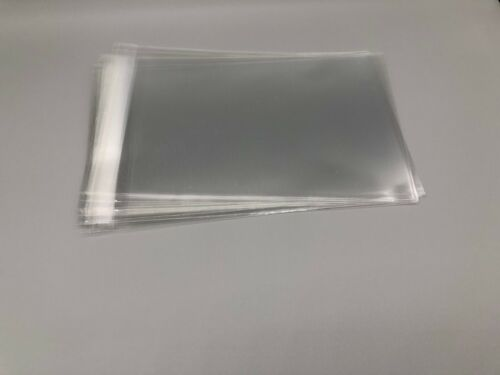 Clear Resealable Self Adhesive Seal Cello Lip & Tape Plastic bags 1.8 mil Thick