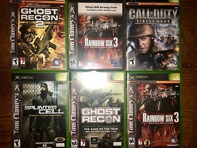 xbox 360 live games lot 6 war games  rarely played all inside papers smoke free for sale  Germantown