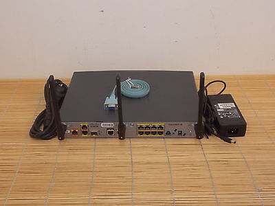 CISCO 892FW-A-K9 better then 892FW-E 100mW WiFi Power GigaE Router SFP 802.11n