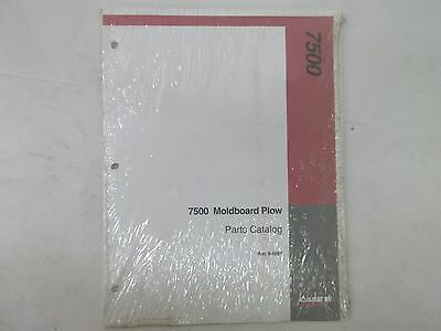 Case International Model 7500 Moldboard Plow Parts Catalog