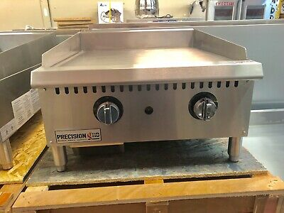 New 24 Griddle Flat Grill Thermostat Temperature Commercial Natural Propane