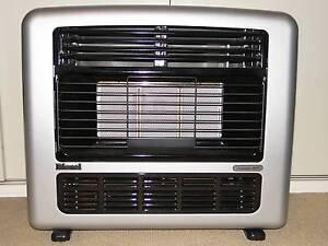 POWERFUL Rinnai Granada MkII Natural Gas Heater - 25 mJ - Silver Artarmon Willoughby Area Preview