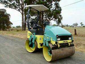2015 Ammann ARX26 Tandem 2.6 Tonne Smooth Drum Roller Austral Liverpool Area Preview