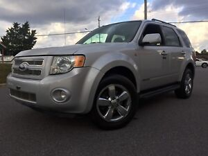 2008 Ford Escape fully loaded  certified on special