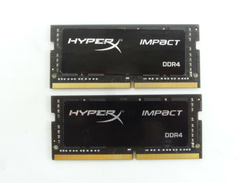 Kingston 2-Pack 8GB 2.133GHz PC4-17000 DDR4 SO-DIMM Unbuffered Non-ECC Laptop Memory Kit HX421S13IBK2/16