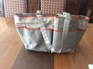 Grace diaper bag with matching change pad