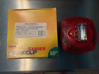 Gentex Sspk24clpr Fire Alarm Speaker Strobe