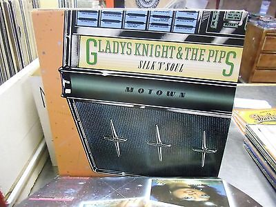 Gladys Knight   The Pips Silk N Soul Vinyl Lp 1978 Natural Resources Ex